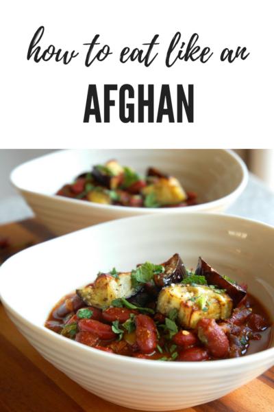 How to eat like an Afghan