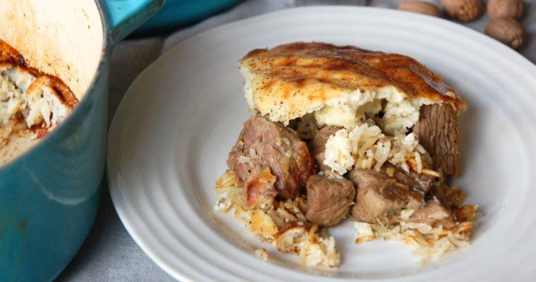 Lamb and Rice Bake