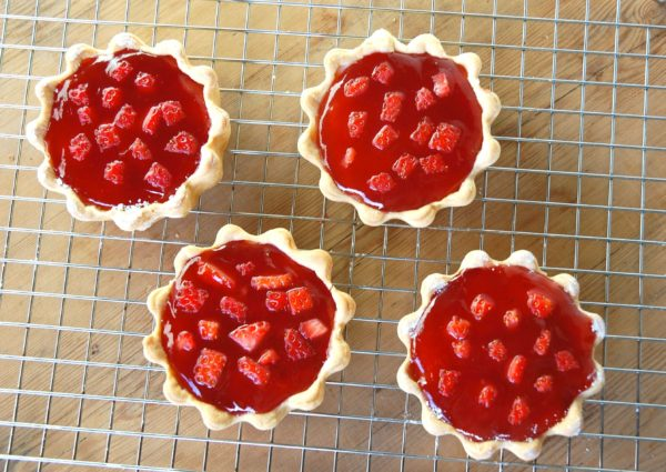 Mini Jam and Cream Tarts