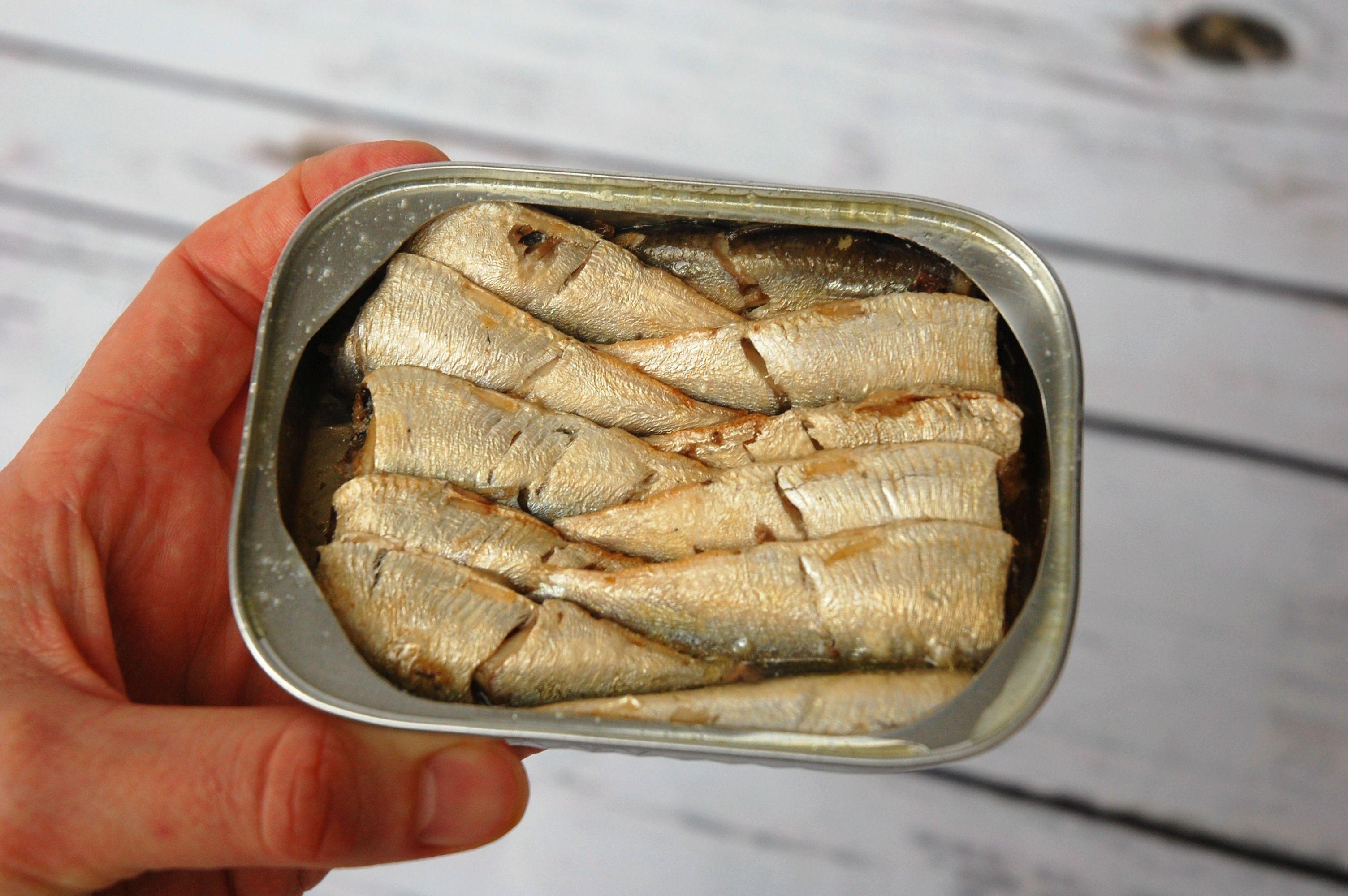 tinned sardines