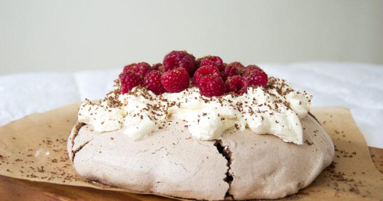 Chilli Chocolate Pavlova