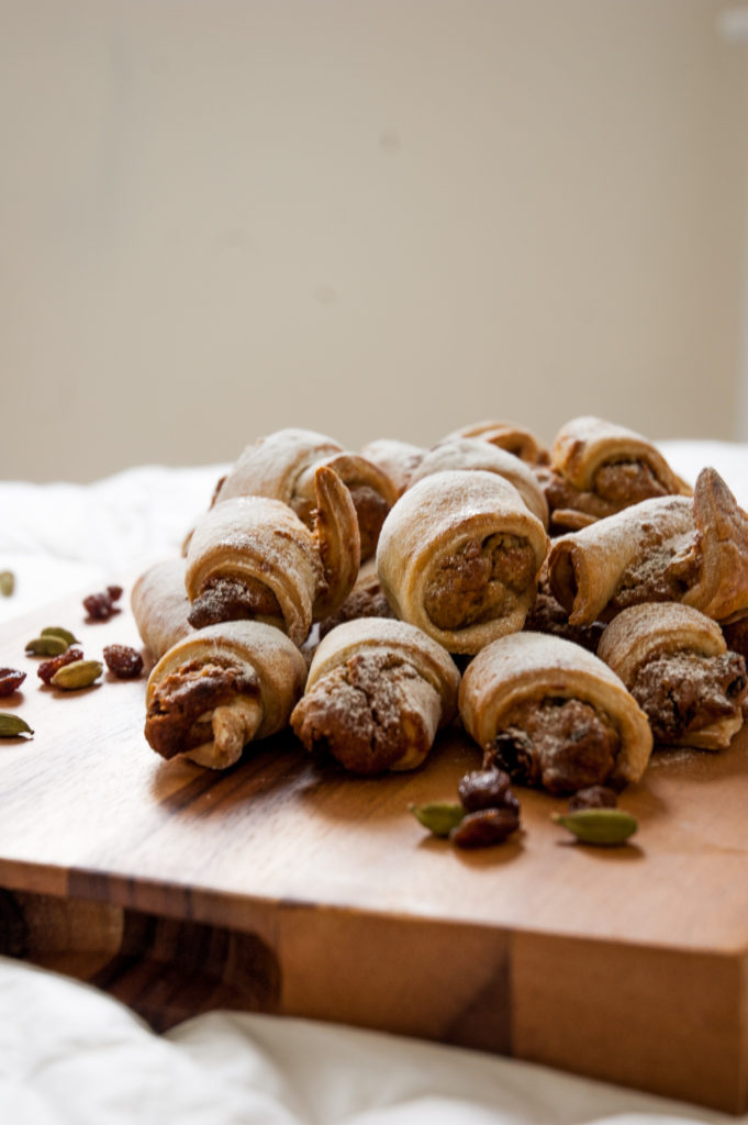 Walnut and Cardamon Biscuits