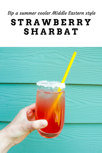 Strawberry Sharbat
