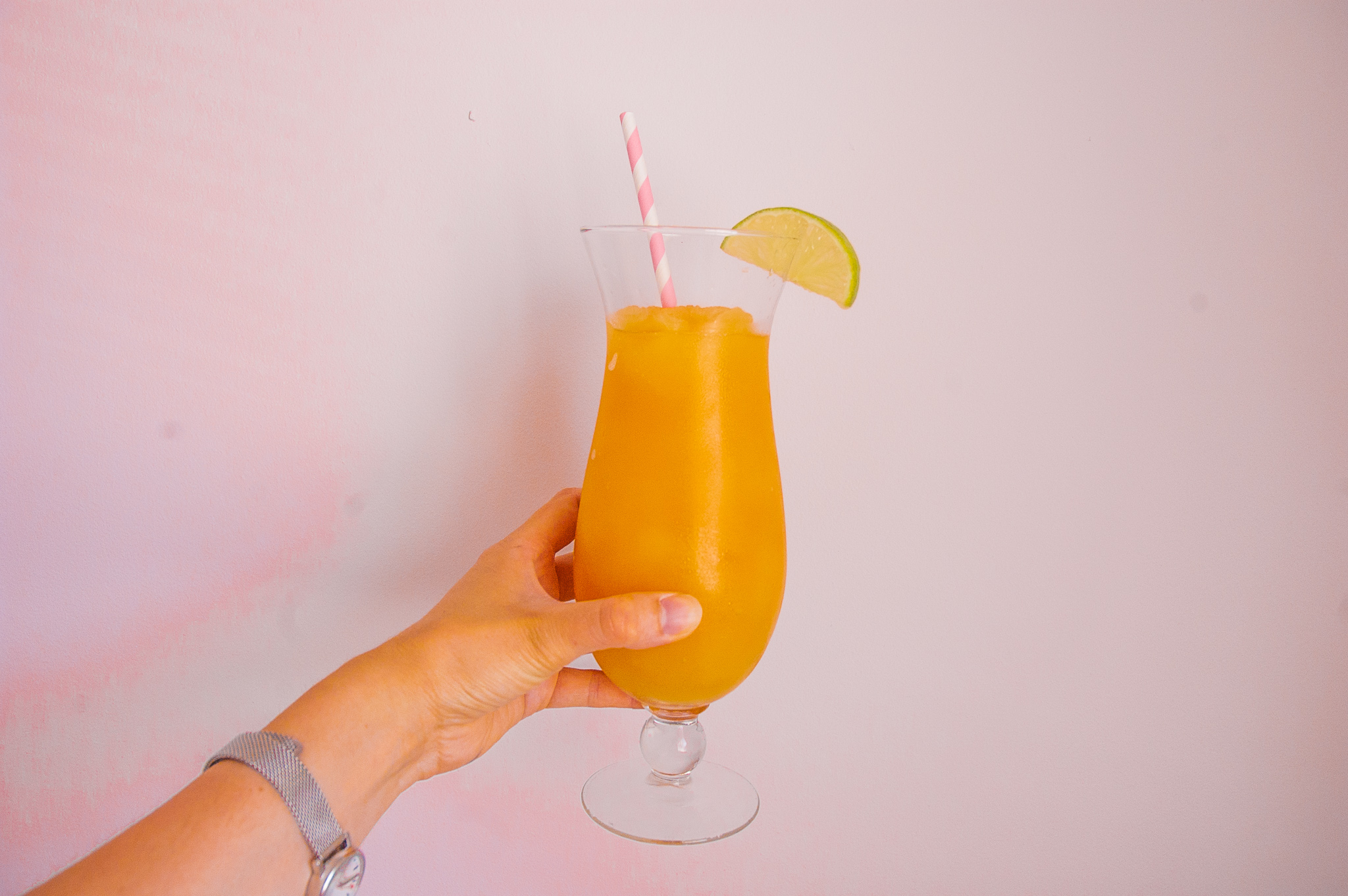 Pineapple and Orange Rum Slush