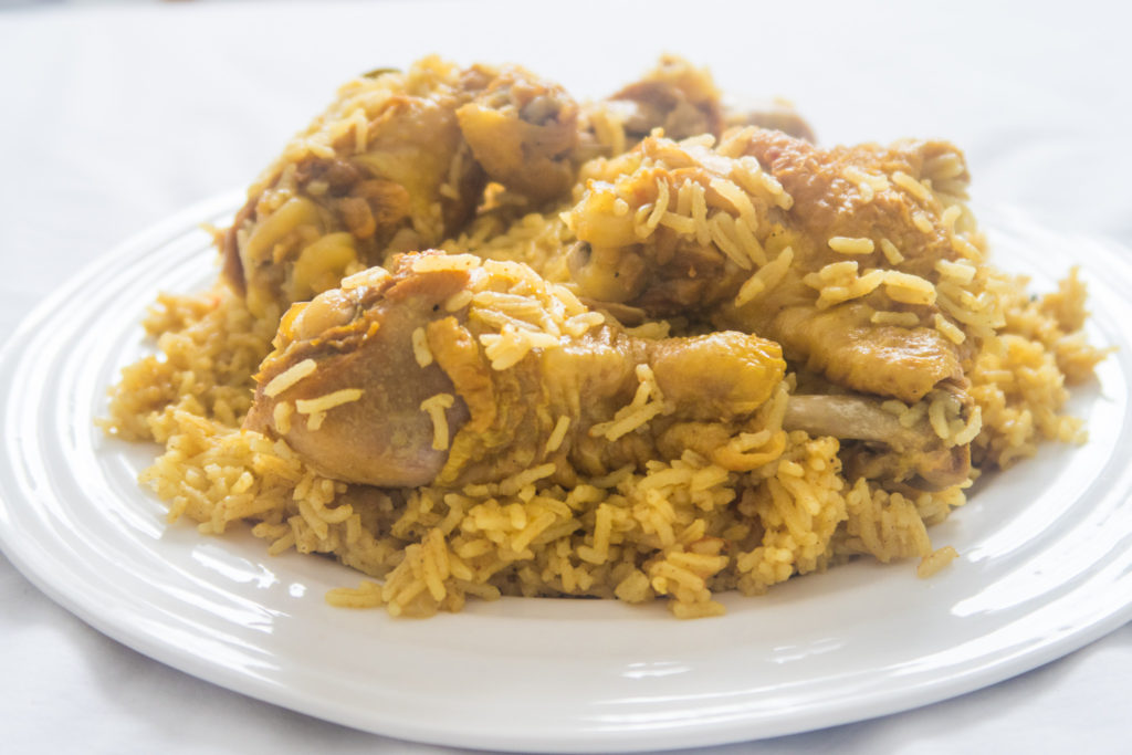 Traditional Bahraini Chicken Machboos