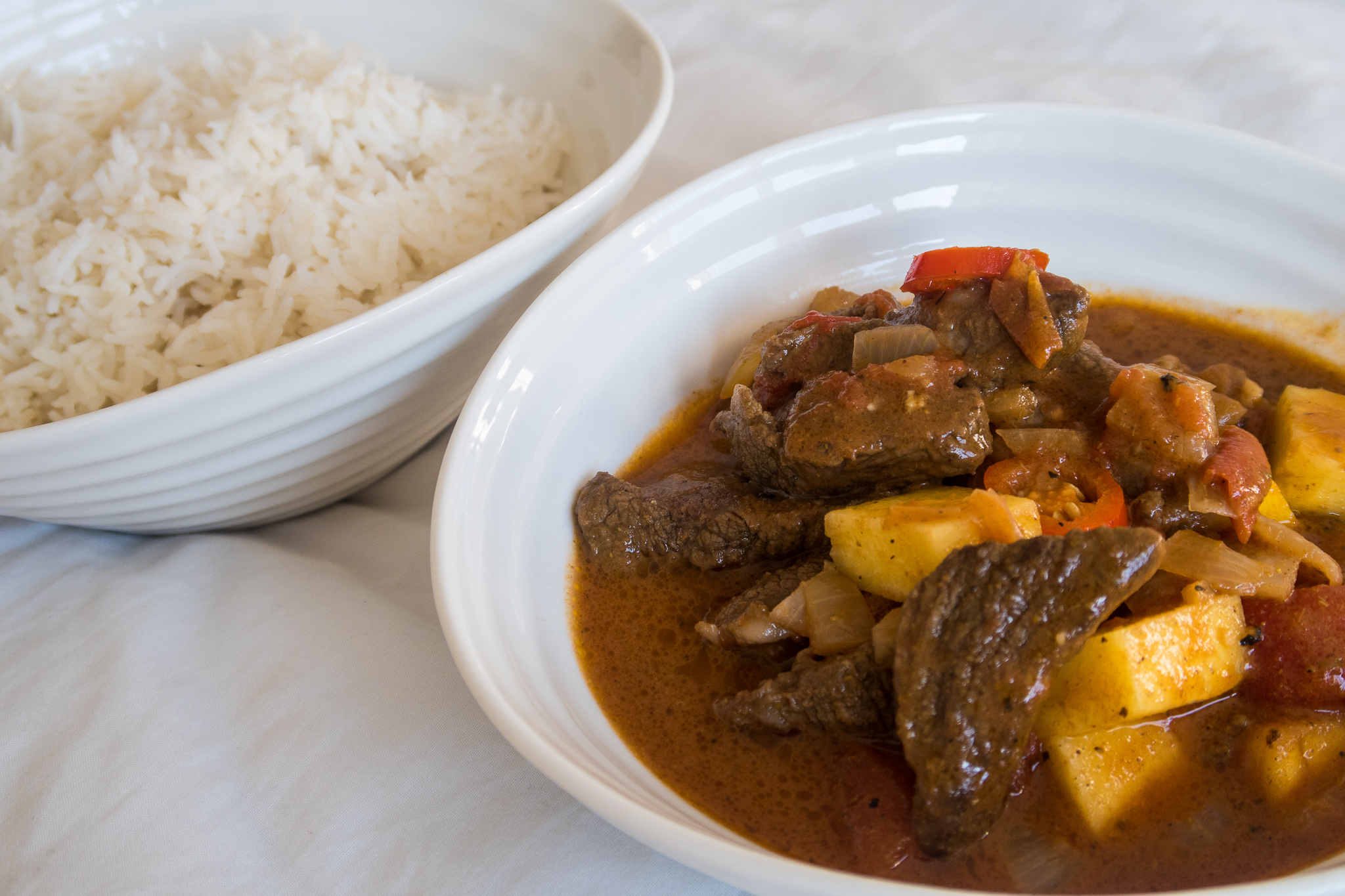Quick Caribbean Beef Curry
