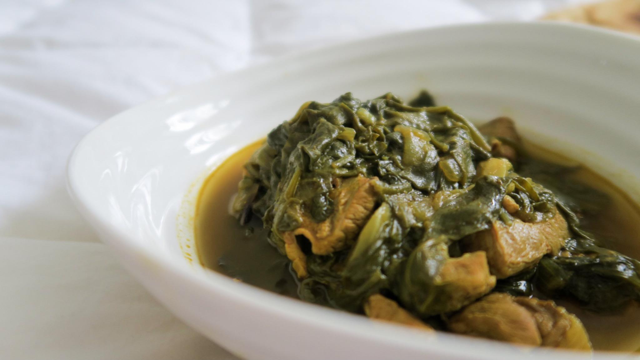Sabzi e Goshte / Slow-cooker Lamb Stew