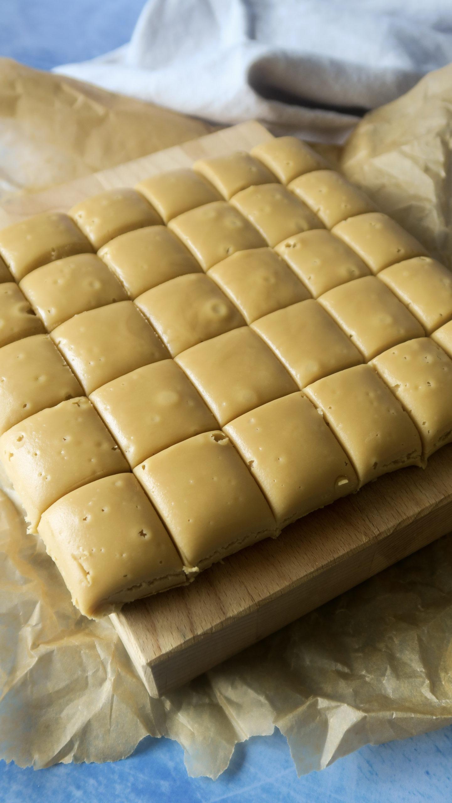 The Creamiest Buttery Rum Fudge