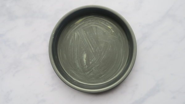 A greased sandwich tin