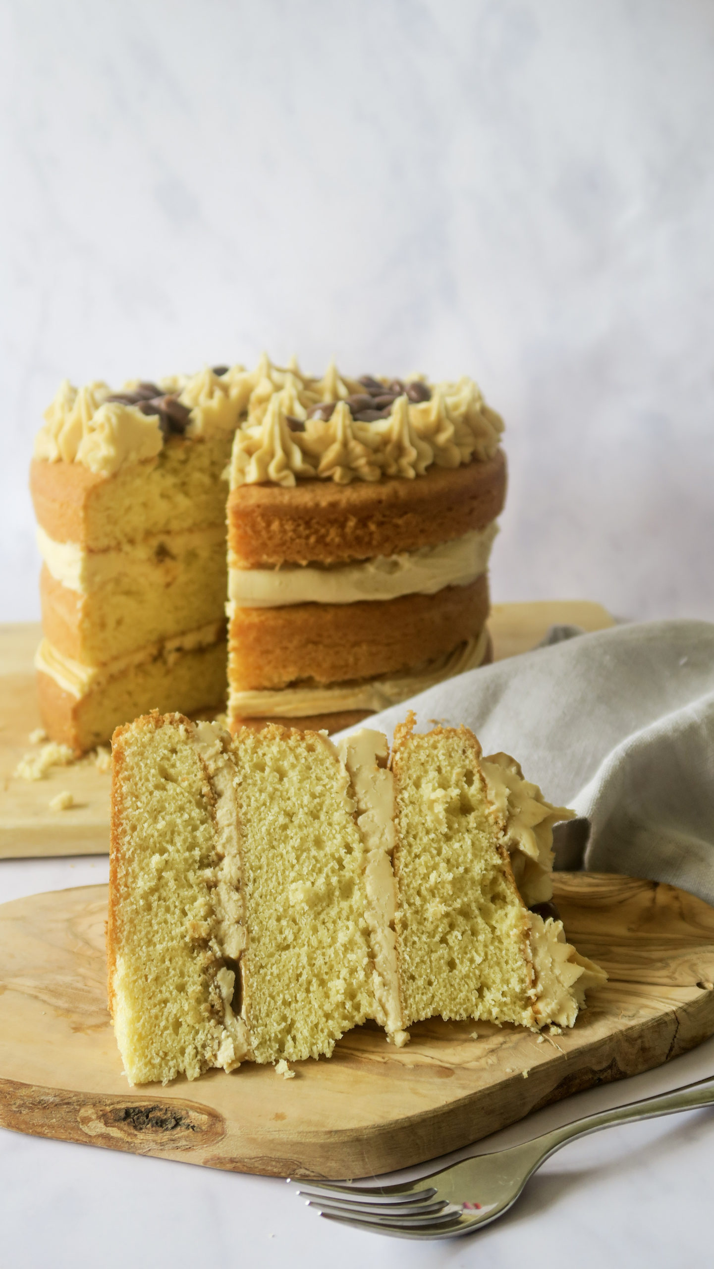Dulce de Leche Cake with Milkduds