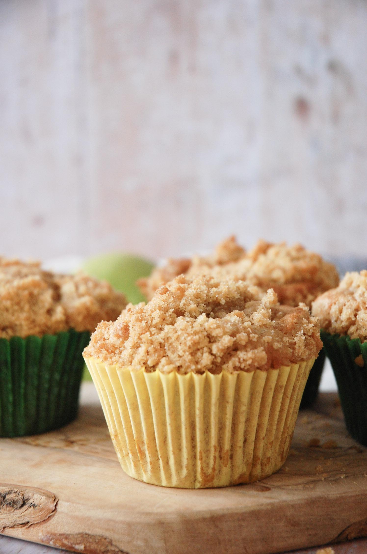 Apple Crumble Cupcakes