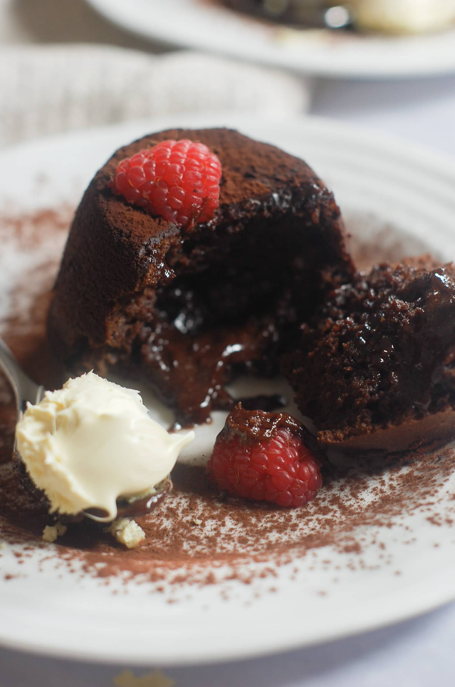 Chocolate Fondants for Two