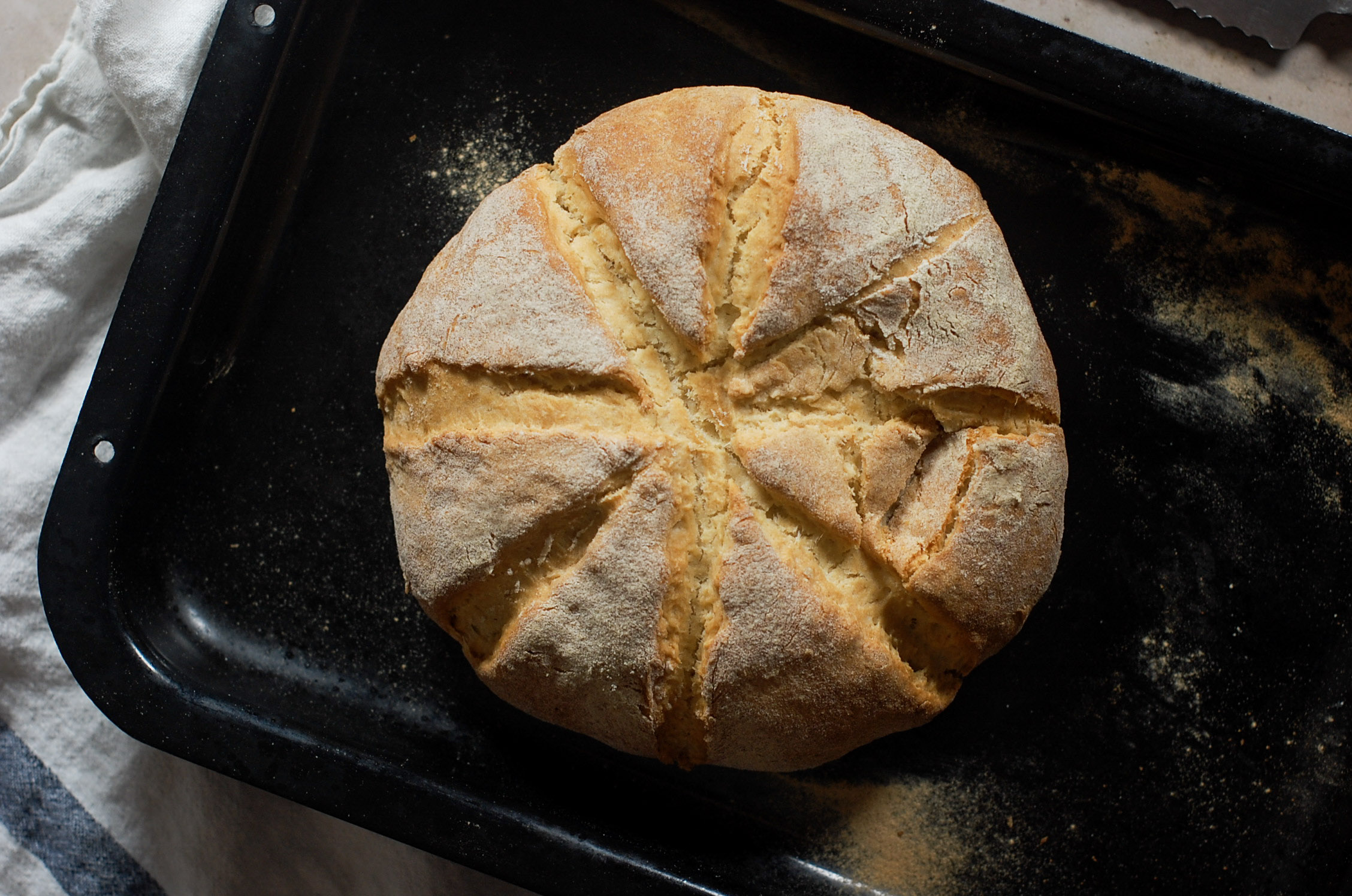 Damper Bread (Australian Soda Bread)