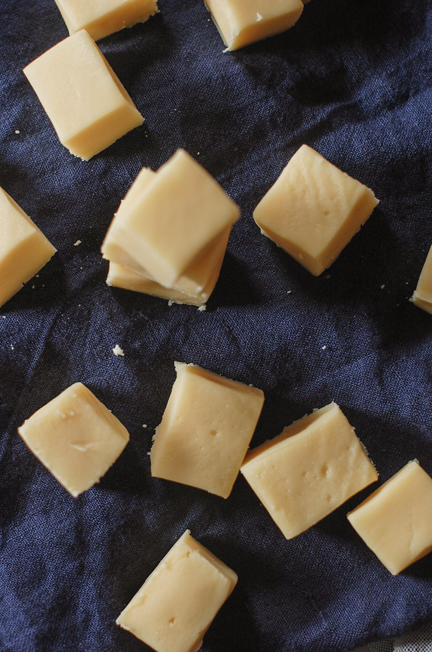 vanilla fudge pieces